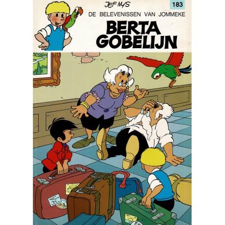 Jommeke - 183 Berta Gobelijn - herdruk 1997