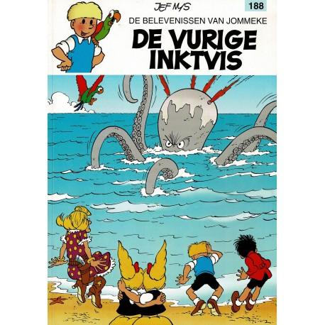 Jommeke - 188 De vurige inktvis - herdruk 2006