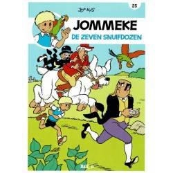 Jommeke - 025 De zeven snuifdozen - herdruk 2014