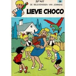 Jommeke - 039 Lieve Choco - herdruk 1989
