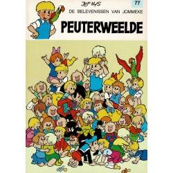 Jommeke - 077 Peuterweelde - herdruk 1993