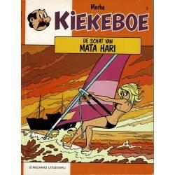 Kiekeboe - 007 De schat van Mata Hari - herdruk 1993