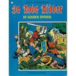 De Rode Ridder - 001 De gouden sporen - herdruk 1980