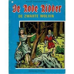 De Rode Ridder - 015 De zwarte wolvin - herdruk 1979