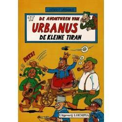 Urbanus - 017 De kleine tiran - herdruk 1991
