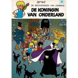 Jommeke - 003 De koningin van Onderland - herdruk 1993
