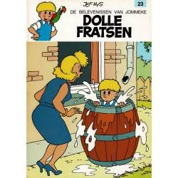 Jommeke - 023 Dolle fratsen - herdruk 1993