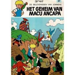 Jommeke - 057 Het geheim van Macu Ancapa - herdruk 1993