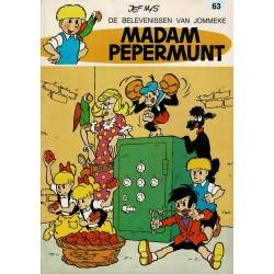 Jommeke - 063 Madam Pepermunt - herdruk 1979