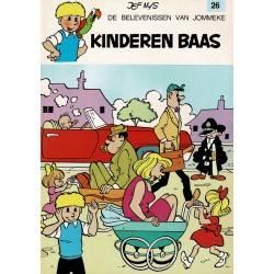 Jommeke - 026 Kinderen baas - herdruk 1998
