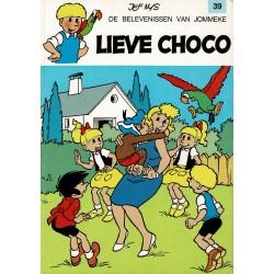 Jommeke - 039 Lieve Choco - herdruk 1996