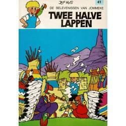 Jommeke - 041 Twee halve lappen - herdruk 1991