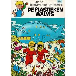 Jommeke - 050 De plastieken walvis - herdruk 1993
