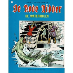 De Rode Ridder - 052 De watermolen - herdruk in zwart-wit 1980