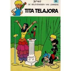 Jommeke - 055 Tita Telajora - herdruk 1991