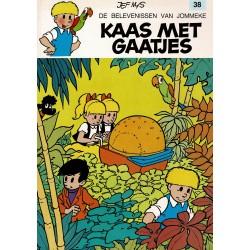 Jommeke - 038 Kaas met gaatjes - herdruk 1997