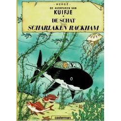Kuifje - 011 De schat van Scharlaken Rackham - herdruk 1997