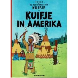 Kuifje - 002 Kuifje in Amerika - herdruk 2002