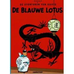 Kuifje - 004 De Blauwe Lotus - herdruk 2000