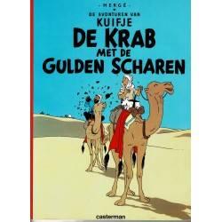 Kuifje - 008 De krab met de gulden scharen - herdruk 2002