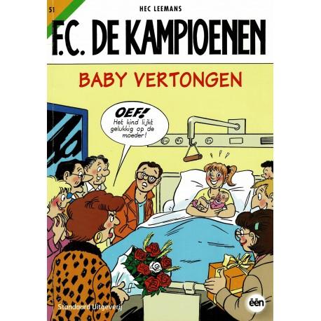 F.C. De Kampioenen - 051 Baby Vertongen - herdruk 2011