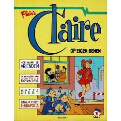 Claire - 001 Op eigen benen - herdruk 1997