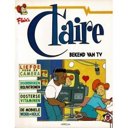 Claire - 005 Bekend van tv - eerste druk 1993