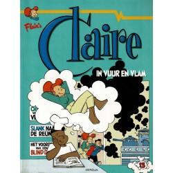 Claire - 013 In vuur en vlam - eerste druk 1999