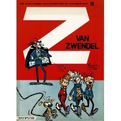 Robbedoes en Kwabbernoot - 15 Van Zwendel - herdruk