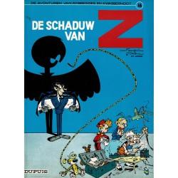 """Robbedoes en Kwabbernoot - 016 De schaduw van """"Z"""" - herdruk 1994"""