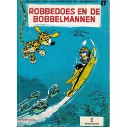 Robbedoes en Kwabbernoot - 017 Robbedoes en de bobbelmannen - herdruk 1994