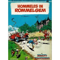 Robbedoes en Kwabbernoot - 019 Hommeles in Rommelgem - herdruk 1994