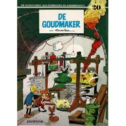 Robbedoes en Kwabbernoot - 020 De goudmaker - herdruk 1994