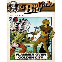 Buffalo Bill - 004 Vlammen over Golden City - eerste druk van heruitgave 1984