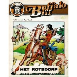 Buffalo Bill - 006 Het Rotsdorp - eerste druk van heruitgave 1984
