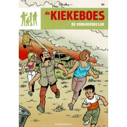 De Kiekeboes - 121 De kangoeroeclub - herdruk 2012