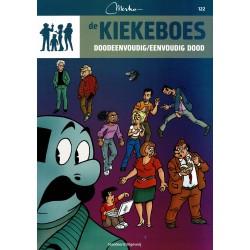 De Kiekeboes - 122 Doodeenvoudig / eenvoudig dood - herdruk 2012