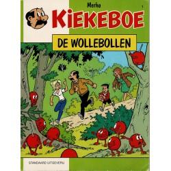 Kiekeboe - 001 De Wollebollen - herdruk 1996