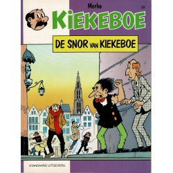 Kiekeboe - 023 De snor van Kiekeboe - herdruk 1997