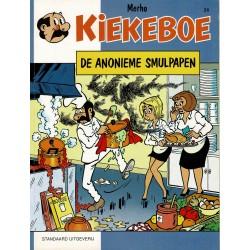 Kiekeboe - 024 De anonieme smulpapen - herdruk 1998