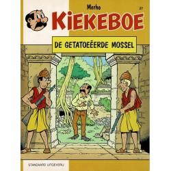 Kiekeboe - 027 De getatoeëerde mossel - herdruk 1997