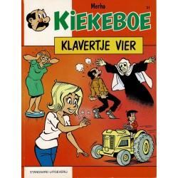 Kiekeboe - 031 Klavertje vier - herdruk 1997