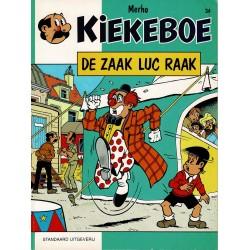 Kiekeboe - 034 De zaak Luc Raak - herdruk 1996