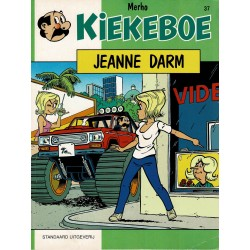 Kiekeboe - 037 Jeanne Darm - herdruk 1997