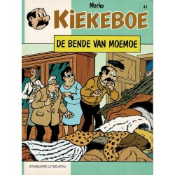 Kiekeboe - 041 De bende van Moemoe - herdruk 1997