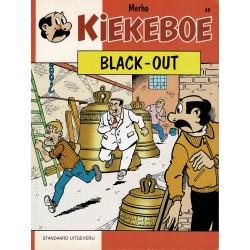 Kiekeboe - 048 Black-out - herdruk 1997 - herdruk 1997