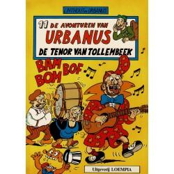 Urbanus - 011 De tenor van Tollembeek - eerste druk 1986