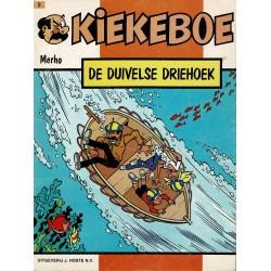 Kiekeboe - 002 De duivelse driehoek - herdruk 1986