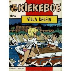 Kiekeboe - 040 Villa Delfia - eerste druk 1988