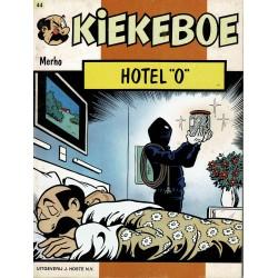 Kiekeboe - 044 Hotel O - eerste druk 1989